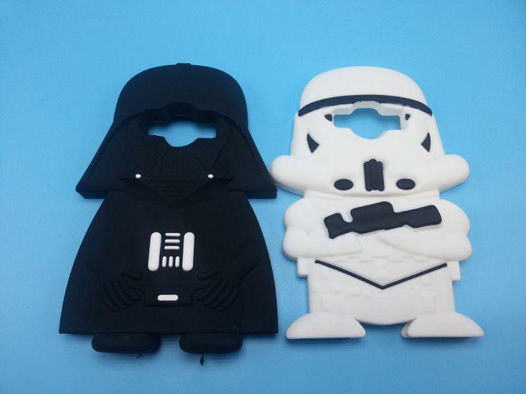 3D Cartoon Star Wars Darth Vader funda de silicona para Samsung Galaxy Core…