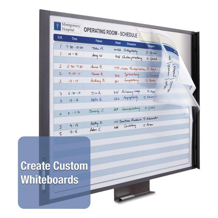 Quartet InView Custom Whiteboard 47 x 35