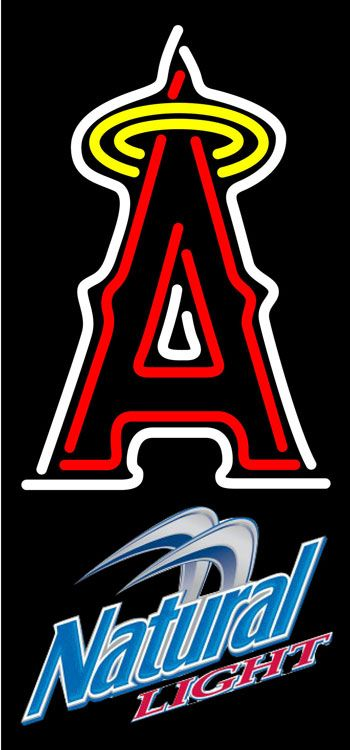 Natural Light Anaheim Angels MLB Neon Sign 3 0015, Natural Light with MLB Neon Signs | Beer with Sports Signs. Makes a great gift. High impact, eye catching, real glass tube neon sign. In stock. Ships in 5 days or less. Brand New Indoor Neon Sign. Neon Tube thickness is 9MM. All Neon Signs have 1 year warranty and 0% breakage guarantee.