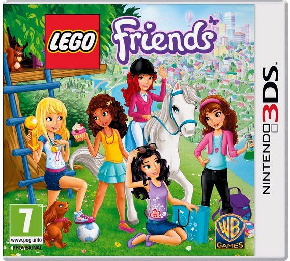 Buy LEGO Friends - Nintendo 3DS Game at Argos.co.uk, visit Argos.co.uk to shop online for Nintendo 3DS, 2DS and DS games, Nintendo 3DS, 2DS and DS, Video games and consoles, Technology