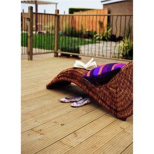 Wickes Treated Pine Garden Deck Board 2.4m