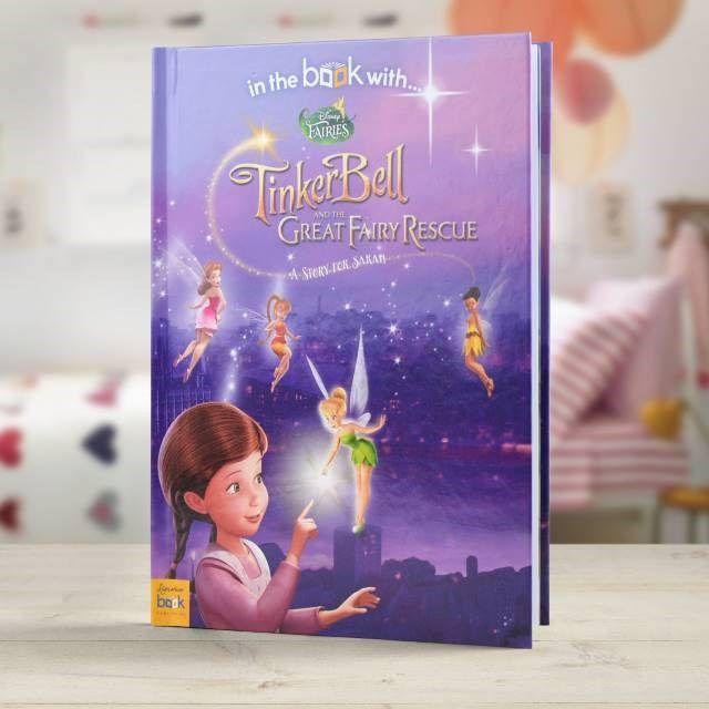 Personalised Children's Book - Disney Fairies | GettingPersonal.co.uk