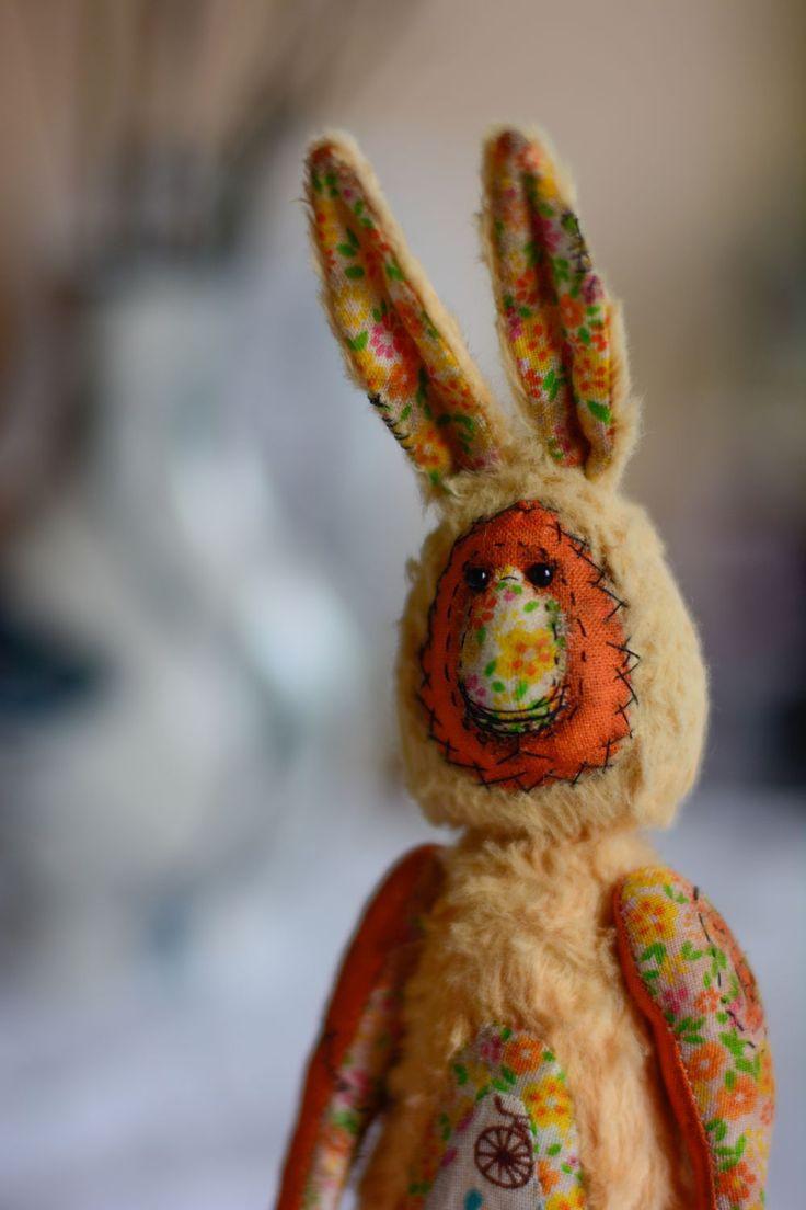 Купить Гарри и Салли - рыжий, заяц, заяц тедди, авторская работа, ручная работа, мишка