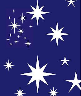 Large Star Stencil I M Thinking Blue Walls With Silver