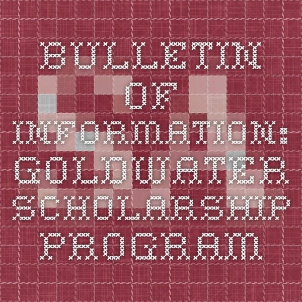 goldwater essay tips Goldwater scholarship essay goldwater scholarship essay congress established the barry m.