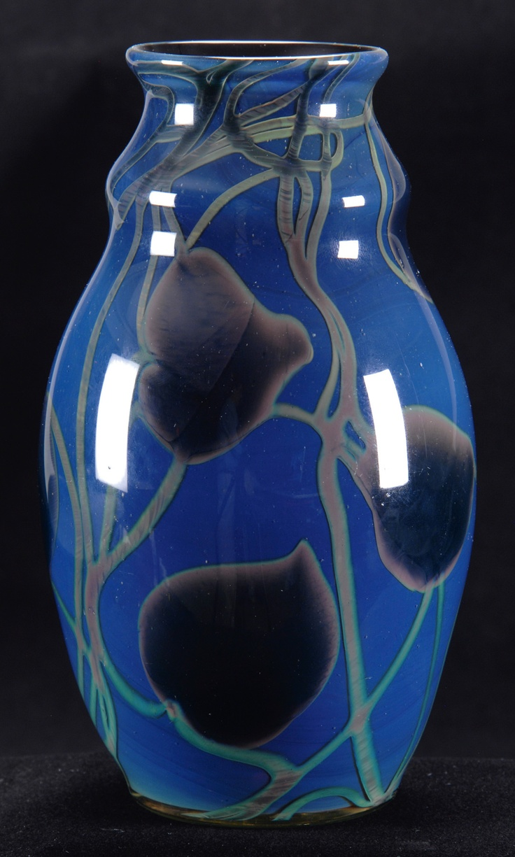 177 best vase images on pinterest crystals glass vase and ending in a finale of applause was a dichroic tiffany favrile paperweight vase that changed from reviewsmspy