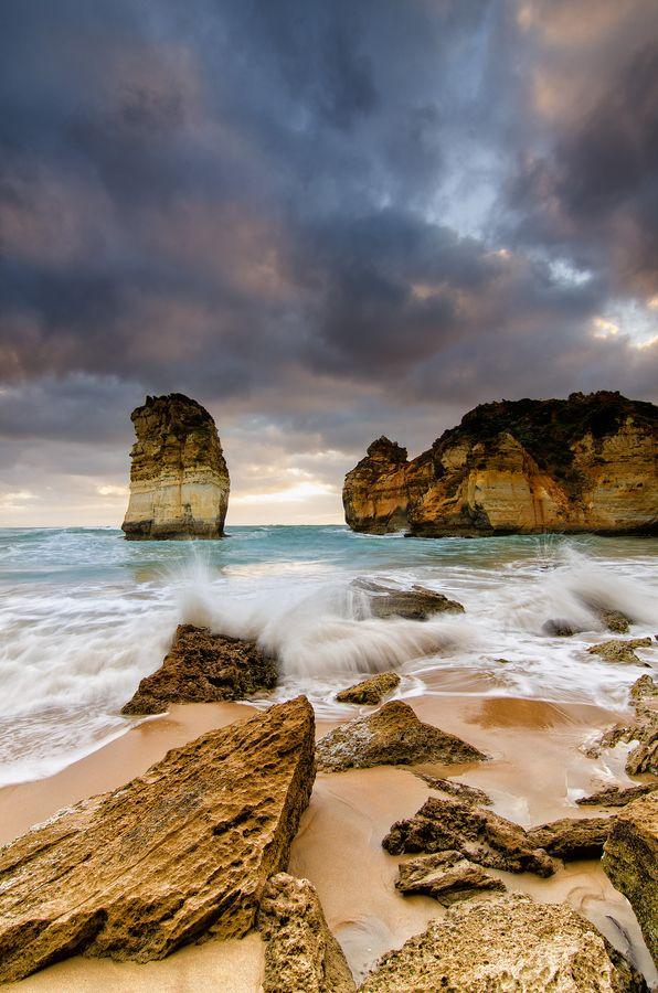 Childers Cove, Victoria, Australia by Aaron Toulmin, via 500px Warrnambool, Victoria Australia