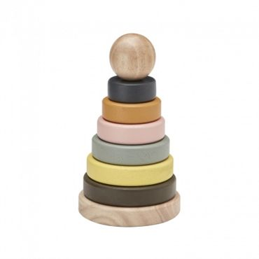 Kids Concept - Wooden Stacking Rings