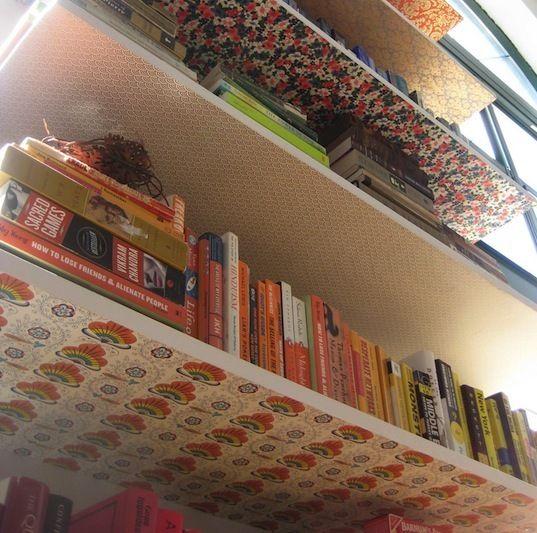 Different Bookshelves best 25+ wallpaper shelves ideas on pinterest | diy bedroom decor