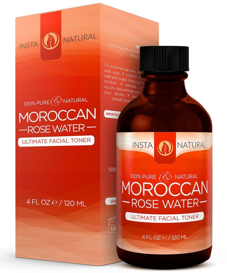 Instanaturals moroccan rose water is 100 pure and