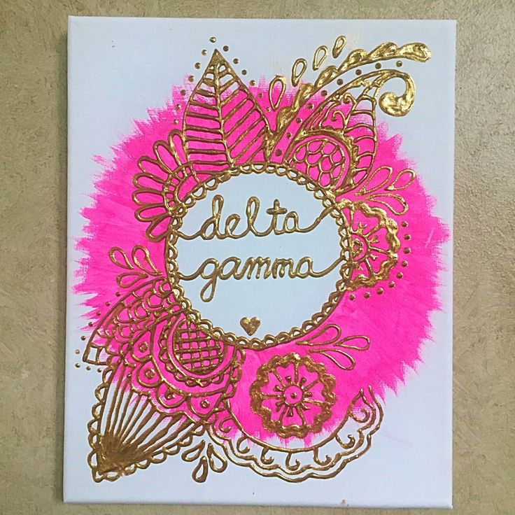 Get your sorority canvases to add that personalized touch to your dorm room this year!