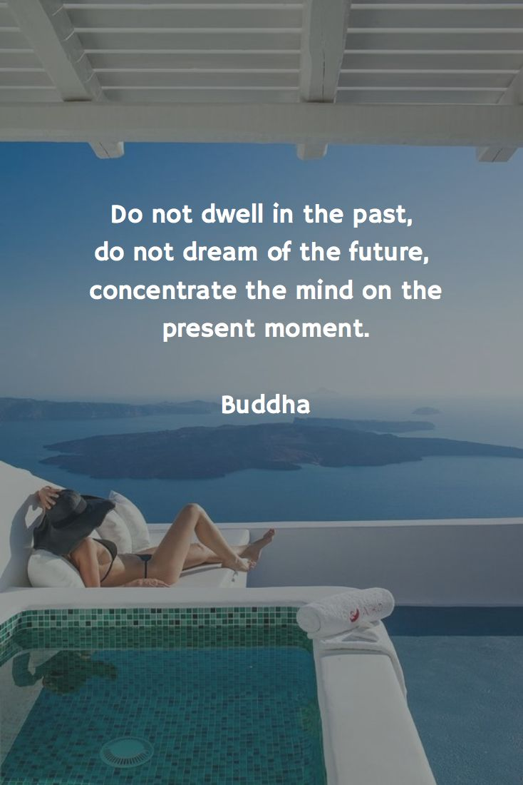 Live in the present! #quote #inspirational #sea #pool #happiness