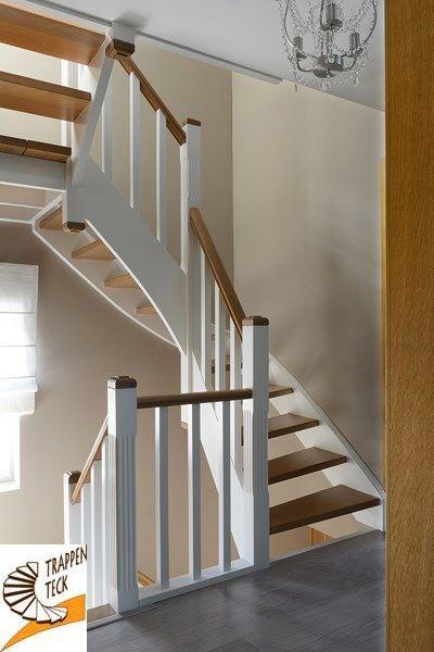 Trap landelijk interieur trap op maat for Trap op maat bestellen
