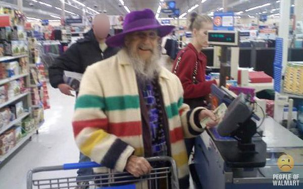 People of Walmart is a humor blog that depicts the many customers of Walmart stores across the United States and Canada. Description from peopleofwalmart.com. I searched for this on bing.com/images