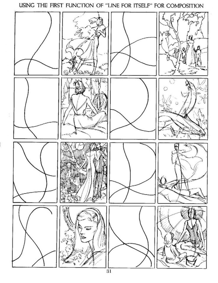 Best Composition Images On   Art Tutorials Drawing