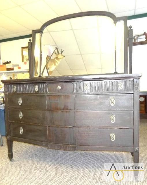 Luce Furniture Co Grand Rapids Mi Purchased This Mahogany Dresser At An Online Auction Feb