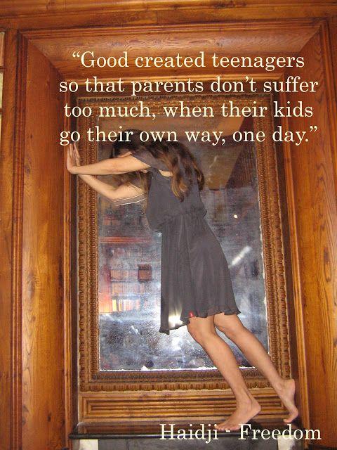 Haidji: Teenagers - Book Quote - Haidji - Freedom - Harabl...