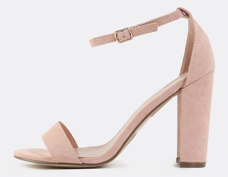 Madeline Blush Heel