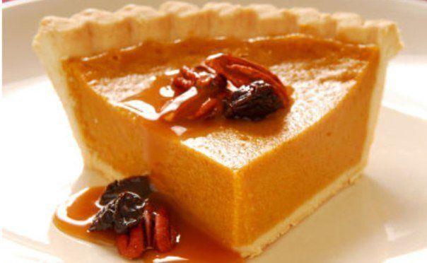 Тыквенный пирог с апельсином.