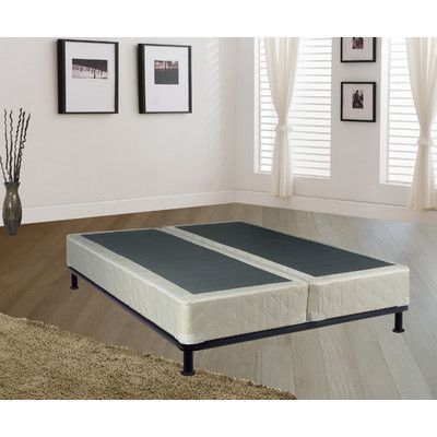 Spinal Solution Low Profile  Box Spring, Queen Split Height: Standard