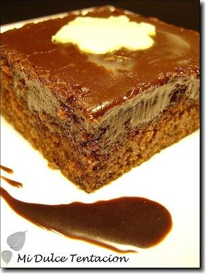 Bizcocho de chocolate a la coca colaPROBADO, es una autentica bomba calorica pero esta de muerte!!!! Un 10