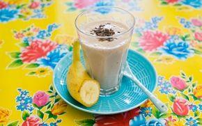 Chokladsmoothie med banan   Supergod, min favorit!