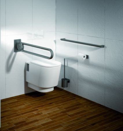 New Cavere toilet support - designed by C. F. Moeller Architects, Denmark - simple and elegant!
