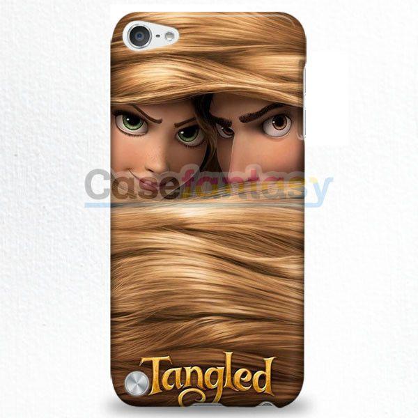 Tangled Disney Wallpaper Princess Rapunzel iPod Touch 5 Case | casefantasy