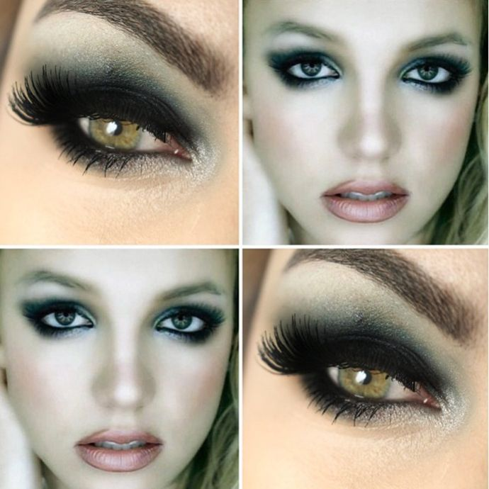 Smokey eye - britney spears