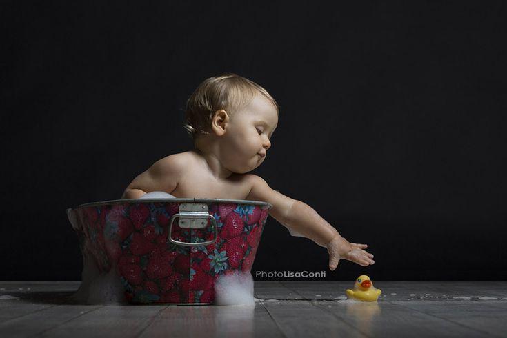 Fotografie bimba, primo compleanno - Lisa Conti