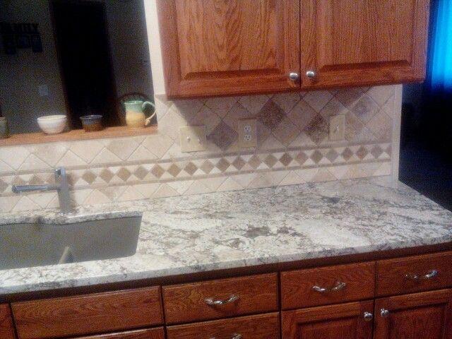 Backsplash For Bianco Antico Granite Enchanting Decorating Design