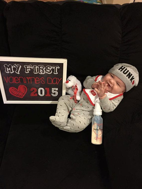 Welcome to ChalkingItUpBoards! This listing is for a 11x14 high resolution jpeg file. What a great way to commemorate babys first Valentines