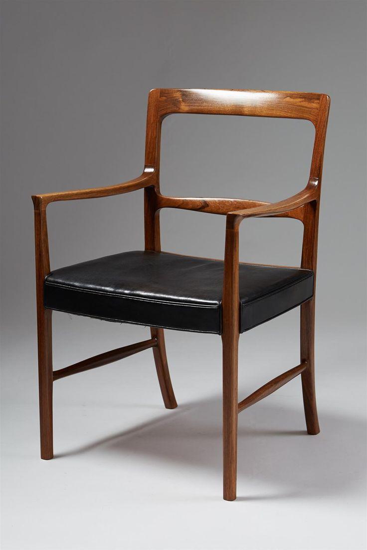 Armchair Designed By Ole Wanscher For AJ Iversen, Denmark. 1950u0027s.