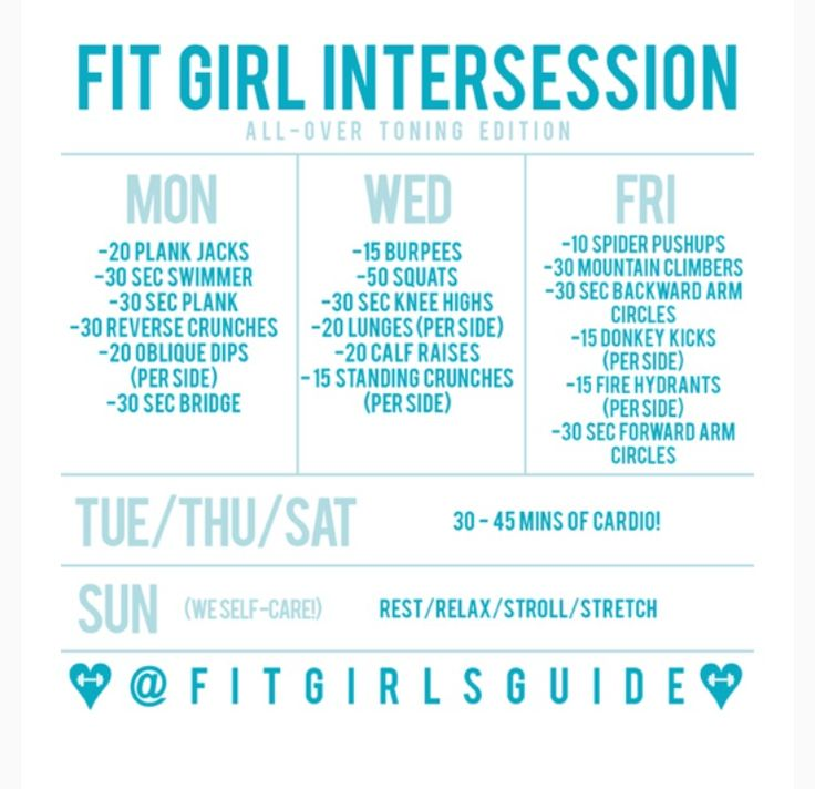 By @fitgirlsguide