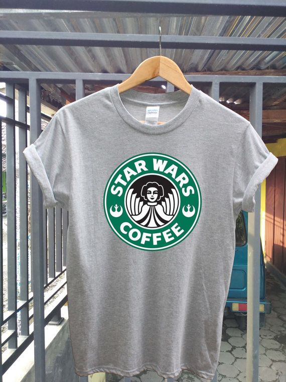 Starwars coffee shirt starbucks t shirt unisex by ArisaJewellery