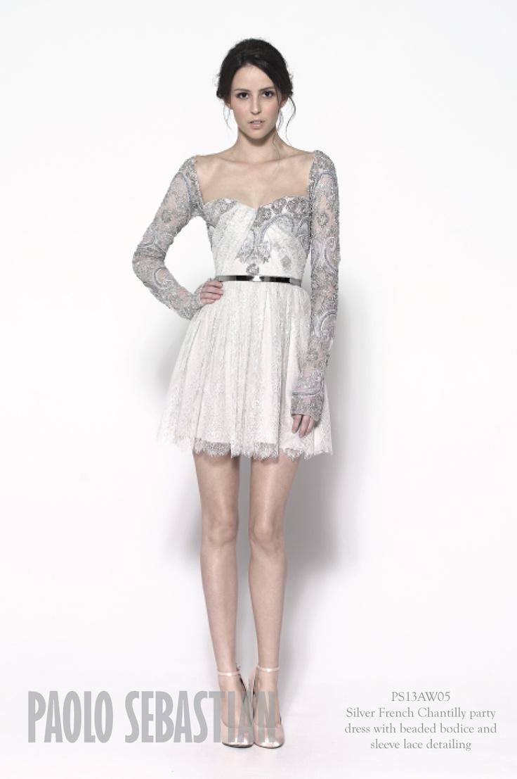 Giuliana rancic 2014 oscars paolo sebastian dress - Paolo Sebastian A W Couture