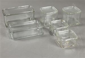 glas wilhelm wagenfeld kubus opbevaringsglas 6 dk. Black Bedroom Furniture Sets. Home Design Ideas