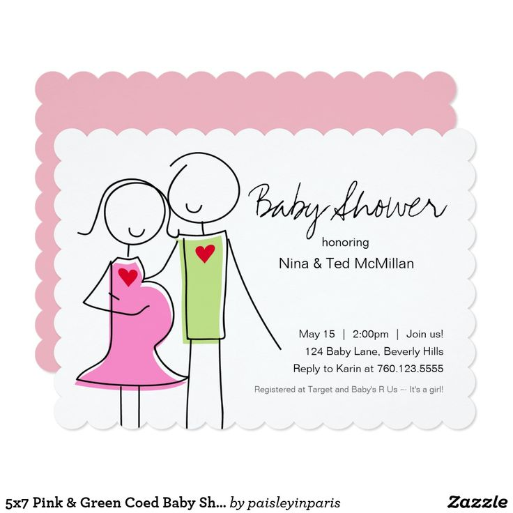 Best 25+ Coed baby shower invitations ideas on Pinterest   Baby q ...