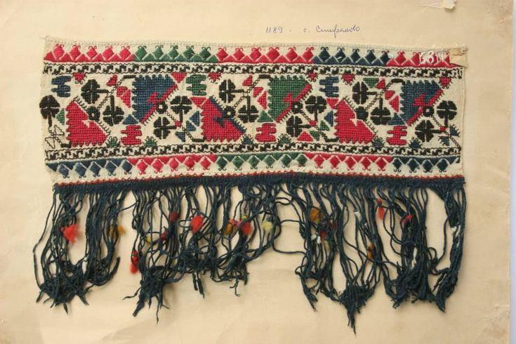 Сокаена шевица от с. Стефаново, Ловешко Sokaj embroidery from Stefanovo village, Lovech region