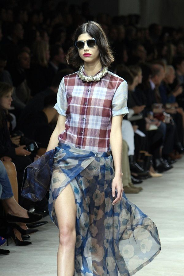 Love the skirt  Dris Von Notten Spring 2013