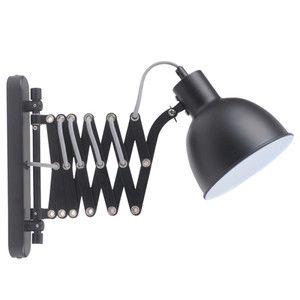 Kinkiety z regulowanym położeniem źródła światła oraz ruchomym wysięgnikiem