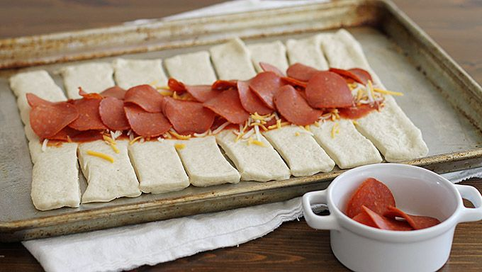 Pepperoni Pizza Braid recipe - from Tablespoon!