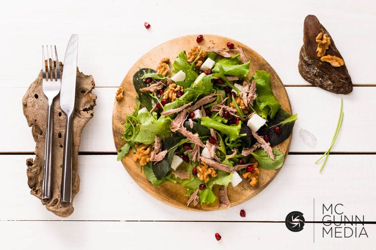 Delicious mouthwatering salad by www.mcgunnmedia.com