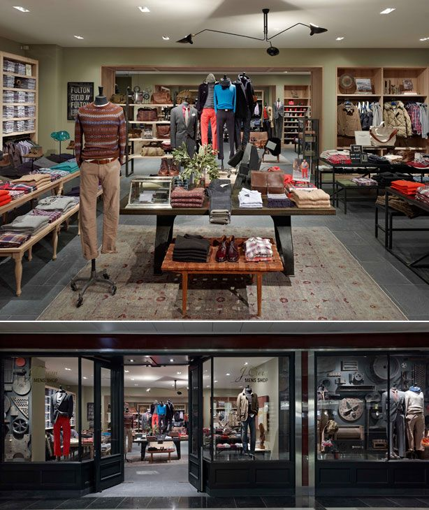 An Exclusive Look at J.Crew's New Spot Just for Men