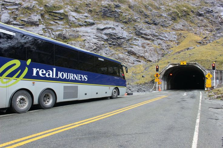 Milford Sound  - Homer Tunnel. At an altitude of 945 m above sea level it pierces through the sheer granite rock wall to allow road access to Milford Sound. #UltimateQueenstown