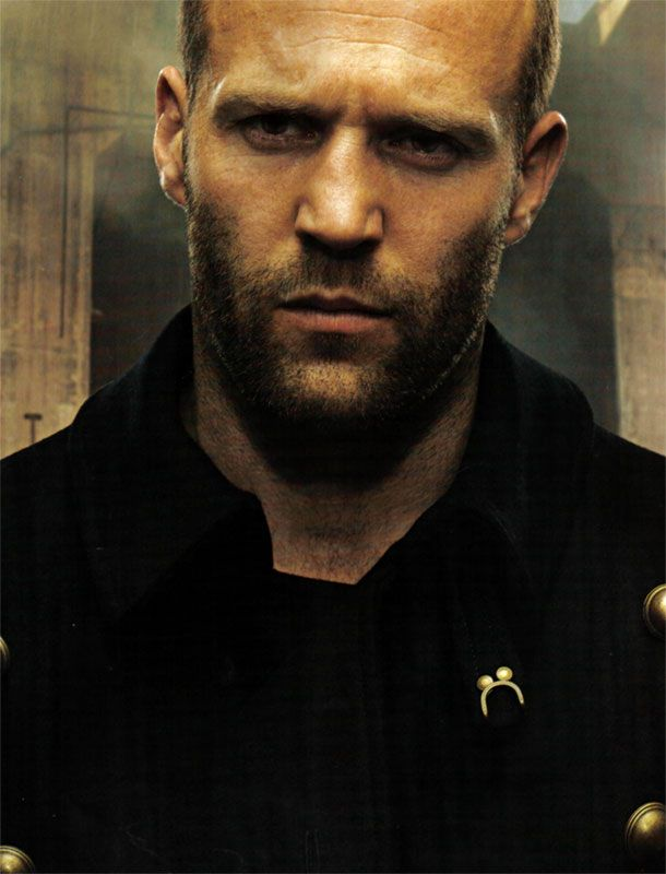Not usually a fan of bald; but Jason Statham makes me change my mind!