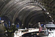 HRGiger.com - Museum Bar - in Chateau St Germaine- Gruyeres - Switzerland