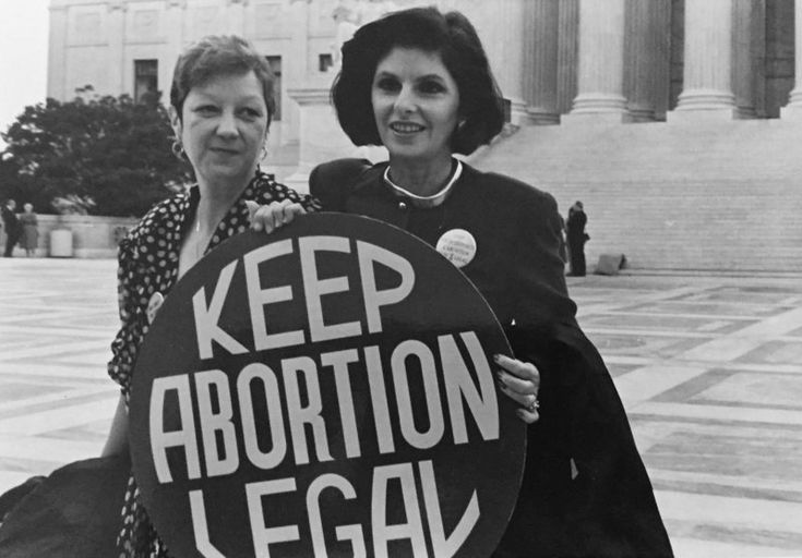 The Court Case That Killed the 'Ladies Menu'  Upscale restaurants once listed prices only for men. | For a time, Gloria Allred (on the right) served as Norma McCorvey's attorney, the Jane Roe in Roe v. Wade.
