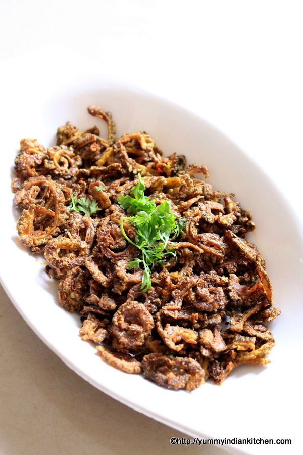 Karela Fry is a side dish stir fried recipe.. Karela fry can be eaten along with dal rice and it is quite popular all across north india