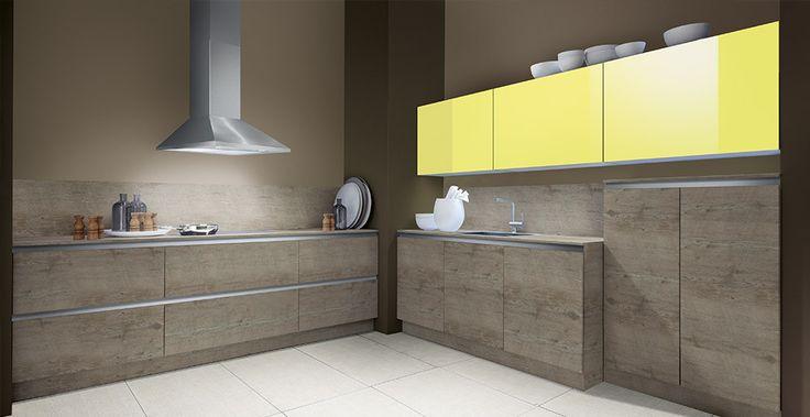 Schröder Küchen | Küche ohne Griffe | Fenix GLV schwarz | Küchen ...